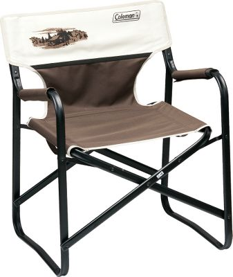 Camp and Hike Colemans Legacy Chair is great for camping, backyard activities or whenever an extra chair is needed. Features rugged 600-denier fabric, a 300-lb. weight capacity, padded seat and back. Folding, powder-coated steel frame. Imported. 30-1/2H x 23W x 20D. Weight: 10.4 lbs. Style: Mountain Scene. - $24.88
