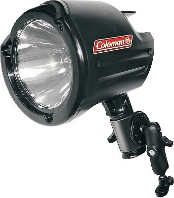 lluminate the night with 2,900 lumens of dark-piercing power. 2,550-ft. beam distance. Universal mount with integrated hanging feature. 12-volt direct plug. Nonslip grip. Size: SPOTLIGHT 2013. - $29.88