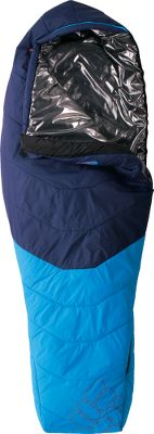 Camp and Hike Compressible Thermic MX Insulation provides exceptional warmth and loft without bulk. Revolutionary Omni-Heat thermal reflective lining captures and retains your bodys heat, while wicking moisture away and promoting airflow to keep you cool. Tough 30-denier nylon microripstop shell with Omni-Shield advanced repellency for exceptional wet-weather protection. Two-layer offset quilt construction. Convenient stash pocket for storing essentials. Draft tubes. Includes a compression stuff sack for easy portability. Imported.Available: Reactor 15 Mummy Ultracompact, three-season bag ideal for colder spring and fall days. Optimal comfort from 17F to 28F. Reactor 35 Mummy Lightweight, packable mummy bag delivers exceptional comfort for cool, summer nights. Optimal comfort from 43F to 51F. - $99.88