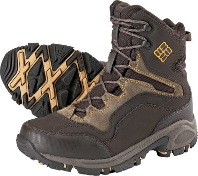 Versatile, technical boots packed with multiple performance features for cold-weather comfort. Durable waterproof uppers boast multiple layers of leather for warmth and protection against the elements. 200-gram Omni-Heat insulation in critical zones over the feet increase warmth. Flexible, full-length Techlite midsoles deliver cushioned, shock-absorbing comfort. Full-length Omni-Grip rubber outsoles provide slip-resistant traction on snow and ice. Imported.Mens sizes: 8-14 medium width. Half sizes to 12.Colors: Gunmetal, Turkish Coffee. - $49.88