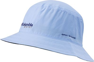 "Multipurpose, 100% ripstop nylon bucket hat that will be a fixture in your survival kit or tackle box. Anglers will appreciate the Omni-Shield Blood and Guts advanced repellence that wards off slime, scales and fishy odors. Omni-Shade provides critical UPF 30 sun protection. Moisture is wicked away via the Omni-Dry advanced evaporation sweatband. 2-1/2"" brim. Imported. Sizes: S/M, L/XL. Colors: Fossil, Sail. - $25.00"