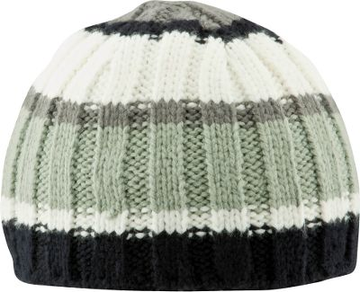 Columbia's Bugagoo line has long been favored by winter sports enthusiasts. Rightly so. The combined technologies equal potent winter protection. The beanie features head-warming properties with a barely-there feel. Head-conforming six-point construction. 100% acrylic yarn. Imported. One size fits most. Colors: Black/Charcoal, Charcoal/Red (not shown), Ranger/Black (not shown). Type: Beanies. Size: One Size Fits All. Size One Size Fits All. Color Charcoal/Red. - $14.99