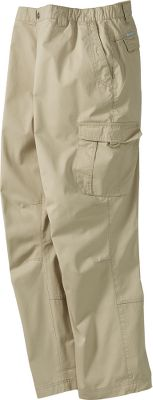 "These cargos offer plenty of pocket space for on-the go convenience. Omni-Shade offers UPF rating of 50 sun protection. Fit-adjusting side elastic waistband. 100% cotton is enzyme-washed for softness. Imported.Inseam: 30"", 32"", 34"". Sizes: M-2XL. Colors: Fossil, Major. - $21.95"