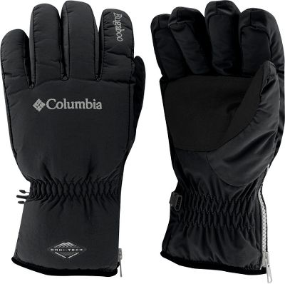 Columbia's Bugagoo line has long been favored by winter sports enthusiasts. Rightly so. The combined technologies equal potent winter protection. Packed with 130 grams of polyester insulation and lined with polyester tricot. Waterproof, breathable nylon shell. Microsuede polyurethane palms. Zip-entry cuffs. Elastic at wrists. Imported. Sizes: S-XL. Color: Black. Type: Gloves. Size: X-Large. Size Xl. Color Black. - $30.00