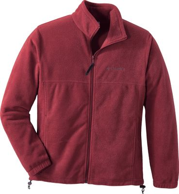Entertainment Get ready to take on chilly weather with functional contemporary style and pleasingly warm, breathable comfort. Columbias Mens Steens Mountain Fleece Jacket is made of moisture-wicking, fast-drying, 250-gram 100% polyester MTR Fleece thats as warm and rugged as it is soft and good looking. Full-length zipper front from the hem to the top of the standup collar. Side pockets carry essential items and are outfitted with zippers to keep contents secure. Authentic fit. Machine washable. Imported. Center back length: 27. Sizes: S-2XL. Colors: Surplus Green Charcoal Heather, Tusk, Black/Black, Collegiate Navy, Charcoal. Size: X-Large. Color: Tusk. Gender: Male. Age Group: Adult. Material: Fleece. Type: Jackets. - $34.99