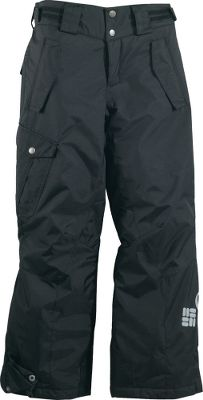 Made of nylon Kolon twill, these Omni-Tech enhanced pants are breathable, critically seam sealed and entirely waterproof. Nylon taffeta lining with 100-grams of warming polyester insulation. Articulated knees create free and easy movement, reinforced cuff guards keep snow out, and internal leg gaiters offer easy on and off. Zip-closed pockets. Imported. Sizes: 8, 10/12, 14/16, 18/20. Colors: Black, Intense Red, Compass Blue. - $49.88