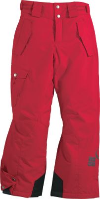 Worthy of the slickest slopes and snowiest of days, these tyke-sized snow pants are crafted from 100% waterproof and breathable Omni-Tech fabric and fully sealed at critical seams for maximum protection from the elements. Internal leg gaiters keep snow out, while the reinforced cuffs offer long-lasting durability. Articulated knees for full mobility. Zip-closed pockets. Imported.Sizes: 4/5, 6/7.Colors: Black, Compass Blue (not shown), Intense Red. - $41.88