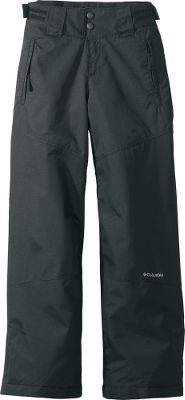 Send her out well-equipped for the best snow day ever with these full-featured waterproof, insulated pants. Crafted from nylon twill with Omni-Shield to keep snow, rain and stains at bay. Fully insulated with 80-gram polyester for lightweight warmth. Adjustable waist tabs and grow cuffs offer more than one season of wear for growing girls. Reinforced knees and cuff guards add an extra layer of protection in high-wear areas. Internal leg gaiter. Imported.Sizes: 4/5, 6/6X.Colors: Black, Sea Salt (not shown). - $29.88