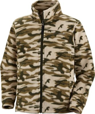 This light, MTR Fleece jacket zings with maximum cool-weather comfort. Crafted of 100% polyester. Machine washable. Imported.Sizes: 8, 10/12, 14/16, 18/20.Colors: Tank Houndstooth Print, Grill Camo, Flame Houndstooth, Timberwolf, Hot Rod Buffalo Print, Wham Lumberjack, Surplus Green Camo, Hot Rod Lumberjack. - $24.99