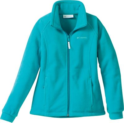 She needs a warm jacket that fits her busy lifestyle. You need it to be affordable. Youve found it. MTR Fleece seals out cold and internalizes body warmth. 100% polyester. Imported. Sizes: 4/5, 6/6X.Colors: Lake Blue, Raspberry Sorbet. - $14.88