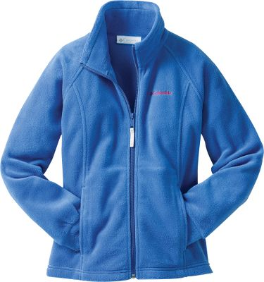 She needs a warm jacket. You need it to be affordable. This jacket fulfills both needs. MTR Fleece seals out cold and internalizes body warmth. 100% polyester. Imported. Sizes: 2T, 3T, 4T.Colors: Primrose, Bright Bluet, Gulfstream. - $12.88