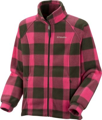 This cool-weather cover-up features warm, soft fleece construction in fun prints for Fall. Made from Coumbia's exclusive 100% polyester MTR fleece to ward off chills. Zip-closed handwarmer pockets. Front zips from hem to collar for complete coverage on extra-cool days. Machine washable. Imported.Sizes: 6 mo., 12 mo., 18 mo., 24 mo.Colors: Sea Salt Lumberjack, Raspberry Lumberjack, Very Pink Lumberjack, Pink Taffy Lumberjack, Eclipse Blue Camo, Surplus Green Owl (not shown), - $11.88