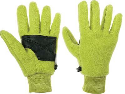 Guns and Military When a cup of warm cocoa isn t enough to keep little hands warm on a crisp fall day, add these fleece gloves. Rib-knit cuffs and polyurethane grips on palms. Imported. Sizes: XS-L. Colors: Charcoal, Columbia Navy, Compass Blue, Iris Glow, Leapfrog, Surplus Green Camo, Very Pink, Black. - $9.88