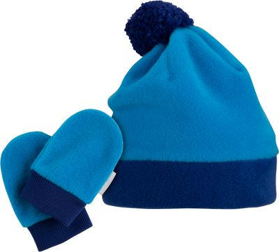 Your child will now have the proper tools for a successful play-date with Frosty. Warm-as-a-blanket 100% polyester fleece. Set includes hat and mittens. Knit cuffs on mittens. One size fits most. Imported. Colors:Atlantis, Bright Rose, Mineshaft, Riptide. Size: ONE SIZE FITS MOST. Color: Bright Rose. Gender: Female. Age Group: Kids. Material: Fleece. - $9.88