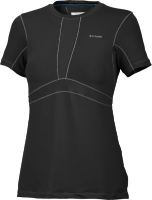 A form-fitting, moisture-wicking base layer thats ideal for high activity levels. Crafted of breathable, four-way comfort-stretch 91/9 polyester/elastane material with odor-fighting antimicrobial treatment. Omni-Wick technology moves perspiration away from your skin and Omni-Freeze ICE advanced cooling keeps you from overheating. Ergonomic seaming. Machine washable. Imported.Center back length size Medium: 26.Sizes: S-XL.Colors: Black, White. - $29.88
