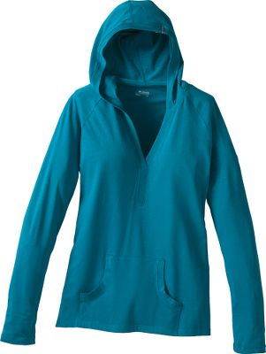 "A great hoodie is a comfortable hoodie, and this one won t disappoint. It's made of a four-way comfort-stretch 95/5 cotton/organic cotton/elastane blend. Imported.Back length: 26.5"".Sizes: S-XL.Colors: White, Dark Turquoise, Elderberry, Autumn Orange, Black (not shown). - $19.88"