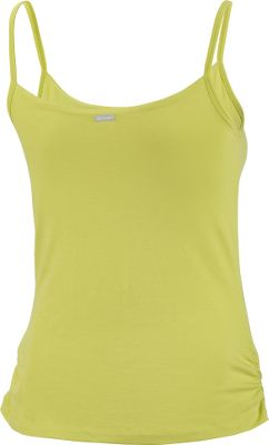 Fitness Stretch fabric moves with you for active comfort. Supportive internal bra. 95/5 cotton/elastane jersey knit. Imported. Sizes: S-XL. Colors: Burnt Henna, Aegean Blue, Sea Salt, Chartreuse, Black. - $12.88