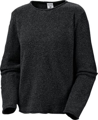 An exceptional sweater should keep you warm and convey a sense of warmth to those around you. Touchable, textured 47% acrylic/31% cotton/22% polyester boucle puts a unique twist on a traditional, casual style. Machine washable. Imported. Sizes: XS-3X.Colors: Delta, Natural, Black, Vino, Lagoon. - $14.88