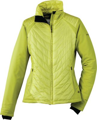 "Skateboard A sharp-looking winter jacket with a flattering fit that's made for active women. The durable shell is 100% Tactel nylon Fine Rip DP ripstop with laminated waterproof and breathable 100% polyester 3L Mobility softshell sides, back and arm panels. Lining is Thermal Reflective 100% polyester. Warmth comes from 60-gram polyester/recycled polyester lining. Omni-Heat and Omni-Shield technology keep your warm and dry. Zip-close security pockets and an internal security pocket. Drawcord-adjustable hem. Abrasion-resistant chin guard. Comfort cuffs with thumb holes. Imported.Center back length: 26"".Sizes: S-XL, 1X-3X.Colors: Leapfrog, Red Element, Compass Blue, Plum. - $49.99"