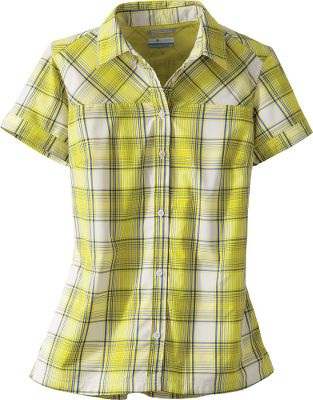Light and cooling, this shirt sports a traditional outdoor plaid look in a warm-weather garment. Vented and mesh lined for air circulation. Crafted of Supplex nylon with polyester mesh. Omni-Wick moves perspiration away from your skin. UPF rating of 15 for protection from the sun. Zip-close security pocket. Imported. Sizes: S-XL. Colors: Burnt Henna, Sea Salt, Compass Blue. - $24.88