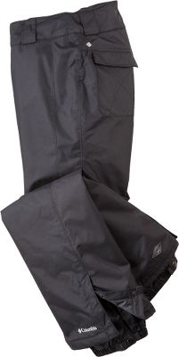 The perfect pants for light, cool days on the slope or trail Columbia Womens Bugaboo Pants. All critical seams are sealed with Columbias Omni-Tech waterproof, breathable treatment. The adjustable waist moves with you, and the lower leg gussets snap open and shut. Internal, adjustable leg gaiters tuck into your boots, while the reinforced hem fits over your boots to keep moisture and cold out. Zip-close pockets. Shell and liner are 100% nylon. Imported. Sizes: S-XL, 1X-3X. Colors: Black, Sea Salt, White, Black/Black. Size: Large. Color: Sea Salt. Gender: Female. Age Group: Adult. Material: Nylon. Type: Pants. - $79.88