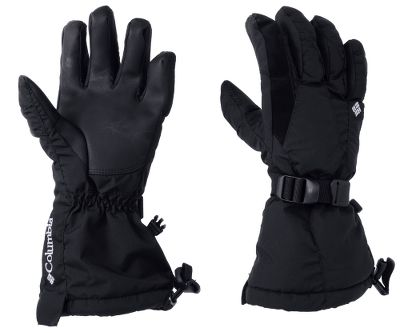 Entertainment These gloves are designed to protect your hands from extreme cold and adverse weather conditions. The 100% polyester shells feature Omni-Tech waterproof, breathable technology keeping your hands warm and dry. Omni-Heat insulation and thermal reflective liners deliver exceptional warmth on the coldest days. Shock-cord hem adjustment and webbing strap wrist adjustment offers double protection from drafts and the elements. Polyurethane palms for added grip. Convenient nose wipe on index finger. Imported.Sizes: S-XL.Colors: Black, Black Plaid, Gravel, Light Grape Plaid. - $29.88