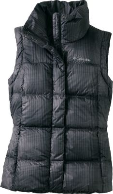 Hunting Reliable layering warmth is where its at with this vests 550-fill-power down insulation. When wearing it as an outer layer, Omni-Shield advanced repellency finish resists light rain and stains, keeping your vest dry and clean longer. The insulated collar and chin guard ensure your neck stays nice and warm, and a storm flap covers the zipper, keeping even more winter weather out in the cold where it belongs. 100% polyester shell with 100% nylon lining. Insulation is 80/20 duck down/feathers. Imported.Sizes: S-XL.Center back length: 25.5.Colors: Black Plaid, Ice Grey Plaid, Red Velvet Plaid. - $64.88