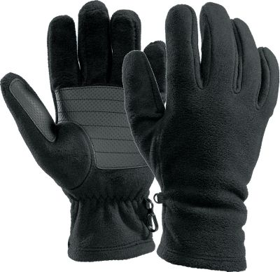 Columbias exclusive Omni-Heat thermal reflective fabric perfectly manages warmth around your hands. Elastic at the wrists minimizes heat loss. Polyurethane grip palm patches provide a sure grip. Imported. Sizes: S-XL. Colors: Gravel, Black, Grill (not shown). Size: MEDIUM. Color: Black. Gender: Male. Age Group: Adult. - $30.00