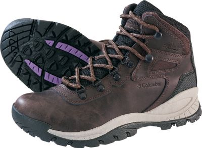 Camp and Hike Long-wearing waterproof leather uppers shed light moisture and stains. Molded nylon shanks for stability. Compression-molded EVA midsoles. Nonmarking Omni-Grip rubber compounds. Imported. Average weight: 13.5 oz./pair. Womens sizes: 6-10 medium width. Half sizes to 10. Color:Cordovan. Size: 7. Color: Brown. Gender: Female. Age Group: Adult. Material: Leather. Type: Boots. - $90.00