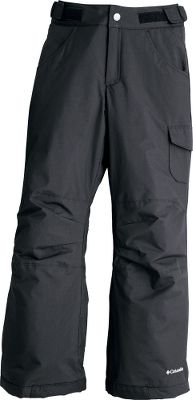 Lightweight and waterproof, these pants are a sure choice for high-speed winter wear. The waterproof fabric has your little girl double-covered with the help of Omni-Shield advanced repellency that resists stains, giving these pants an even longer lifetime. Theyre insulated with 140-gram Slimtech to provide nonbulky and unrestricted movement. The grow cuffs go from 23 to 25, stretching these pants wear beyond one season. Adjustable waist, internal leg gaiters and reinforced cuff guards. 100% nylon shell and lining with 100% polyester insulation. Imported.Sizes: 4/5, 6/6X, 7/8, 10/12, 14/16.Colors: Black, Afterglow Plaid, Light Grape, Afterglow, Neon Light. Type: Pants. Size: 4/5. Color: Black. Size 4/5. Color Black. - $39.88