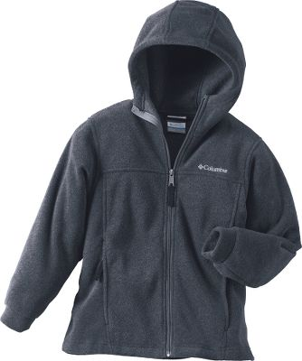 Guns and Military Crafted of MTR Fleece, this cozy hoodie delivers maximum thermal retention to your youngest cold-weather explorer. Zippered hand pockets, full front zipper and a cozy hood for extra wind protection. 100% polyester. Machine washable. Imported. Sizes: 2T, 3T, 4T.Colors: Collegiate Navy, Bronco, Charcoal Heather, Fuse Green. - $18.88