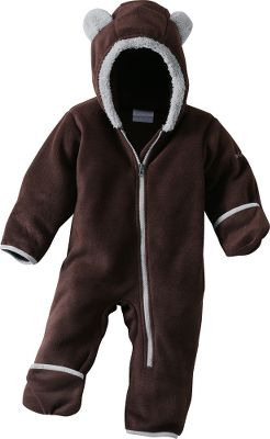 Guns and Military Head-to-toe warmth for your cute cub. Fold-over hands and feet. 100% polyester fleece. Imported.Sizes: 6 mo., 12 mo., 18 mo., 24 mo.Colors: Cattail, Collegiate Navy, Light Grape, Afterglow. - $29.95