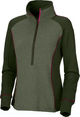 Ultrasoft jersey fabric will make this pullover zip up a favorite in your closet. Omni-Wick fabric technology moves and disperses moisture away from the body for quick evaporation, keeping you comfortable during physical activity. Thumbholes keep the sleeves down, and a zip-close security pocket holds your keys, cell phone or media device when youre out and about. 57/43 cotton/polyester. Imported.Center back length: 26-1/2.Sizes: S-XL.Colors: Coal Heather, Light Grape Heather, Surplus Green. - $29.88