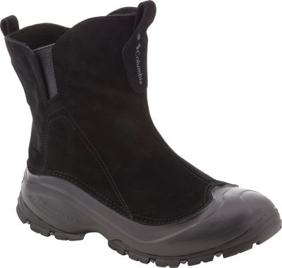 A modern interpretation of a classic, these slip-on boots are built on innovative second-generation Techlite shells that provide protection without the weight. Synthetic and leather uppers are lightweight, flexible and waterproof. Warm 200-gram Thinsulate Insulation keeps snow, slush and cold from shortening your time outdoors. Removable contoured single-density EVA footbeds and Techlite midsoles set up a barrier against moisture and cold. Omni-Grip outsoles along with aggressive treads provide traction in a variety of winter conditions. Imported.Average Weight: 1 lb. 1.3 oz./per boot.Mens sizes: 8-14 medium width. Half sizes to 12.Colors: Black/Coal, Tobacco. - $29.88