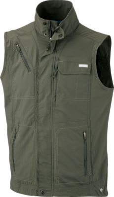 Camp and Hike Perfect for hiking, fishing or anything outdoors, Columbias Silver Ridge vest offers a feature-loaded design and spring-to-fall versatility. Omni-Wick technology works to pull moisture away from skin. Omni-Shade UPF rating of 50 protects against the sun. Vented back increases cool airflow. Pocket with hook-and-loop closure. Zip-close security pocket and handwarmer pockets. Mesh pocket bags. 100% nylon ripstop shell and 100% polyester mesh lining. Imported. Sizes: M-2XL. Color: Gravel. - $70.00