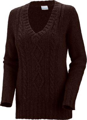 A classic, collegiate-style cabled sweater, knit with blended wool so its cozy and soft. Great for casual layering when you want a rough-hewn look with a touch of elegance. 70/30 acrylic/wool. Imported.Center back length: 27.Sizes: S-XL.Colors: Cattail, Flint Grey. - $14.88
