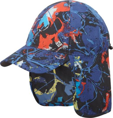 Rugged and functional, the lightweight, 100% polyester cap will keep his head, neck and face protected from the suns harsh rays. Omni-Wick sweatband wicks moisture away for quick-cooling comfort. Adjustable drawcord and toggle at the back. Omni-Shade sun protection with a UPF rating of 30. One size fits most. Imported.Color: Vivid Blue. - $19.88