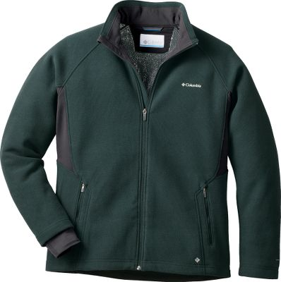This active-fit jacket takes the heat-retaining power of fleece to the next level. Crafted of 280-gram Thermarator fleece, this jackets breathable, moisture-wicking, Omni-Heat polyester fabric boasts a built-in thermal reflectivity that maximizes heat retention. The side panels are made of 280-gram Heat Thermo Stretch, a 92/8 polyester/elastane blend. This hybrid, two-way-stretch fabric delivers unrestricted arm mobility. The abrasion-resistant chin guard keeps your neck cozy on colder days. Zip-close hand pockets, comfort cuffs and a drawcord-adjustable hem. Imported.Sizes: S-2XL.Colors: Black Heather, Deep Woods. Type: Jackets. Size: Large. Color: Deep Woods. Size Large. Color Deep Woods. - $69.88