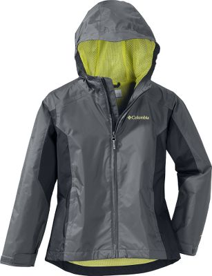 This color-blocked jacket is waterproof and critically seam sealed and holds up to the harshest conditions. The attached, adjustable storm hood and adjustable cuff tabs help seal out the water, and the drop tail covers a bit more on the backside for complete weather protection. Reflective details add to visibility in low-light conditions. Media pocket. 100% nylon shell, 100% polyester mesh lining. Imported.Center back length for size 7/8: 22.Sizes: XXS-XL.Colors: Grill, Collegiate Navy, Valencia. Type: Jackets. Size: Large. Color: Collegiate Navy. Size Large. Color Collegiate Navy. - $50.00