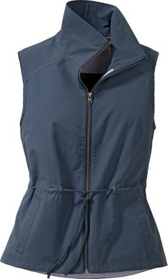 Another modern classic vest from Columbia, the Arch Cape features a UPF rating of 15 sun protection. The simple zippered front, drawcord in the waist, stand up collar and slash front pockets give this stylish vest just the right amount of flair and practicality. 66/34 cotton/nylon. Imported.Sizes: S-XL, 1X-3XL.Colors: Fossil, India Ink, Major (not shown), Velvet Morning (not shown). - $31.88