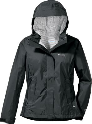 This active-fit jacket will keep you dry from the outside in and the inside out! Columbia has coupled its Omni-Wick Evap technology that wicks perspiration for quicker evaporation with Omni-Tech technology that provides a waterproof jacket that is fully seam sealed for the ultimate in dryness. The drop tail covers a bit more in the back than similar shells. Attached, adjustable storm hood has an abrasion-resistant chin guard when you need the extra protection from driving rain. Vented back makes it that much more comfortable in humid situations. Drawcord-adjustable hem, zippered hand pockets. 100% nylon shell. Imported.Sizes: S-XL.Colors: Black, Riptide. Type: Rain Jackets. Size: Small. Color: Riptide. Size Small. Color Riptide. - $69.99