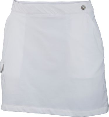 Guns and Military Decked out with Omni-Wick technology, the fabric of this comfortable skort moves moisture away from the body for quick evaporation. Omni-Shade delivers a UPF rating of 40 for more time in the sun. Made of 86/14 polyester/elastane for comfortable stretch. Interior comfort brief. Snap-close cargo pocket at the side. Imported.Sizes: 4-16. Colors: White, Collegiate Navy. - $29.88