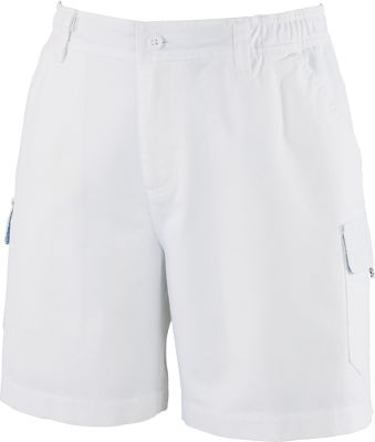Entertainment These easy-care shorts are comfortable and practical. Partial elastic waist and multifunctional pocket design in relaxed-fit, regular-rise shorts will make these an essential part of your warm-weather wardrobe. Omni-Shade UPF rating of 50. 100% cotton. Imported.Inseam: 6, Sizes: S-XL.Inseam: 7, Size: 1X. Colors: Fossil, Sage, White, Collegiate Navy. Type: Shorts. Size: Large. Color: Sage. Size Large. Color Sage. - $14.88