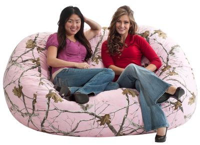 Entertainment Featuring a durable, cotton-twill cover and lightweight polystyrene filling, this cozy two-person Fuf Sofa provides lounging convenience, comfort and support. Unlike traditional beanbags, its patented, long-lasting filling will not break down over time. Locking zippers. Spot clean. Imported. Dimensions: 36H x 48W x 72L. Camo patterns: Realtree AP Pink, Realtree AP. Color: Realtree Ap. Age Group: Kids. - $199.99