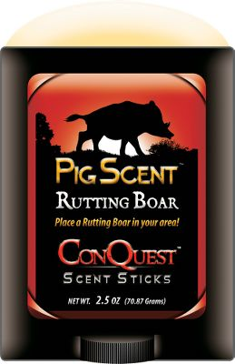 Hunting Bring the big ones in close for the kill. Apply 100 rutting boar urine or sow in estrus around your hunting area with this convenient, easy-to-apply stick. 2 oz. Available: Rutting Boar, Estrus Sow. Size: RUTTING BOAR. Type: Lures/Attractants. - $13.88