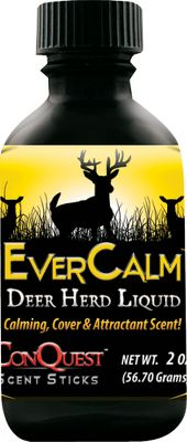 Hunting The strongest and most natural cover scent you'll need is in Herd in a Bottle concentrated liquid. A 2-oz. bottle should be enough for a season of bowhunting. Formula is recommended for applying on both sides of three to four scent sponges. Hang sponges by scrapes, rubs and high-traffic areas during the peak of rut. It may also be used with Scent Trax for a dragline. When done hunting for the day, put scent sponges in zip-loc bag to store. When returning to hunt, wipe fresh scent on the sponges. Leftover product should be vacuum-sealed to preserve freshness at the end of the year. Available: Whitetail. Color: Natural. - $14.99