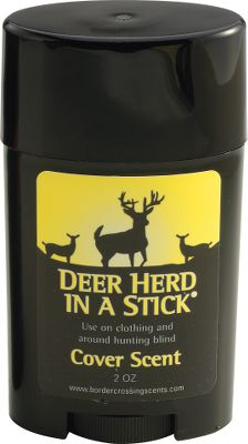 Hunting The strongest and most natural cover scents youll need are in Herd in a Stick concentrated stick. A 2.5-oz. stick should be enough for a season of bowhunting. Formula is recommended for wiping on both sides of three to four scent sponges. Hang sponges by scrapes, rubs and high-traffic areas during the peak of rut. When done hunting for the day, put scent sponges in a zip-loc bag to store. When returning to hunt, wipe fresh scent on the sponges. Leftover product should be vacuum-sealed to preserve freshness at the end of the year. Available: Whitetail, Elk. Color: Natural. Type: Lures/Attractants. - $19.99