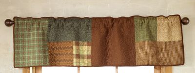 Entertainment Perfectly placed squares create a montage of colors with soothing, definitive lines. The Valance/Runners differently sized rectangles and squares come together to make a bold impact on any room. 100% cotton. Machine wash cold. Tumble dry low or line dry. Imported. Dimensions: 56L x 16H. Gender: Male. Age Group: Adult. - $44.99