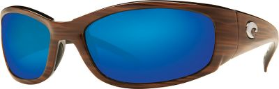 Entertainment The Advanced Colorific Polarized System in Costas Hammerhead Polarized Sunglasses optimizes color contrast and delivers 100% protection against the suns harmful rays, making them perfect for sight-fishing on glaring-bright days. Wave 580 trivex polycarbonate lenses use wavelength absorption for color-enhanced crispness and clarity. Anti-reflective coating on the backside further cuts glare, while an oleophobic, hydrophobic coating on the front sheds water and oil so your lenses stay clean all day long. Frames have a full-wrap design to maximize coverage, plus their cold-injected nylon and Hydrolite construction resists slipping, even on oven-hot days. Stainless steel spring hinges. Manufacturers lifetime warranty. Color: Stainless steel. Material: Nylon. - $189.00