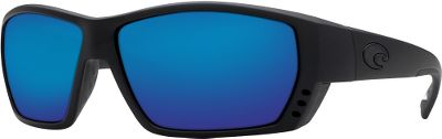 Entertainment Engineered for spotting fish, Costas Tuna Alley Polarized Sunglasses lenses are crafted with an eight-base lens curvature for optimum peripheral vision. These 100% polarized sunglasses feature a large, wraparound fit that kills reflected glare, reduces eye strain and blocks out 100% of UV light. Front frame vents alleviate lens fogging. Nonslip interior lining stays comfortable all day. Heavy-duty integral hinges hold the sunglasses tight to your face. Lightweight, durable co-injected nylon frame. Includes a hard case. Size: L. Gender: Male. Material: Nylon. Type: Polarized. - $169.00